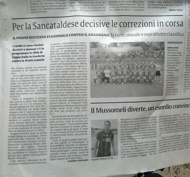 Campionato 2°giornata: SANCATALDESE - citta' di gragnano 2-1 Img-2015