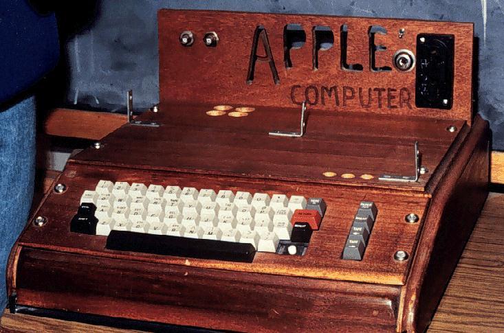 On a retrouvé les Spec de l'ordi de CH ! Apple110
