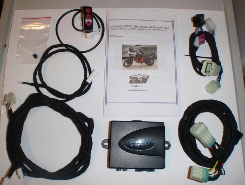 Kaoko Cruise Control, régulateur de vitesse mécanique - Page 2 Ktmmot10