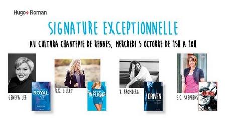 Une pluie de dédicaces cet automne ! ♥ Geneva11