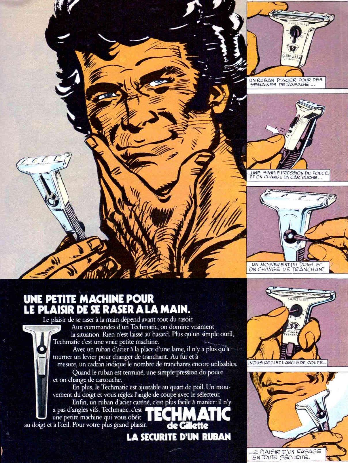 Gillette Techmatic - Schick Instamatic Tech10