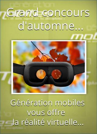 CONCOURS D'automne Génération mobiles Lzf8ne12