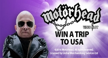 BGO Casino Win a Trip for 2 to USA Motorhead Slot Until 9 October Bgomot10