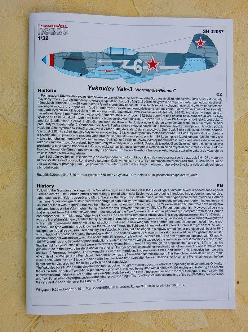 "Yak-3 Special Hobby 1/32 ""Hi tech kit"" Dscn2844"