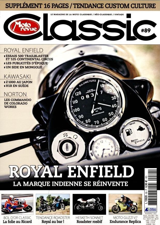 Moto revue classic 89: Royald enfield L592010
