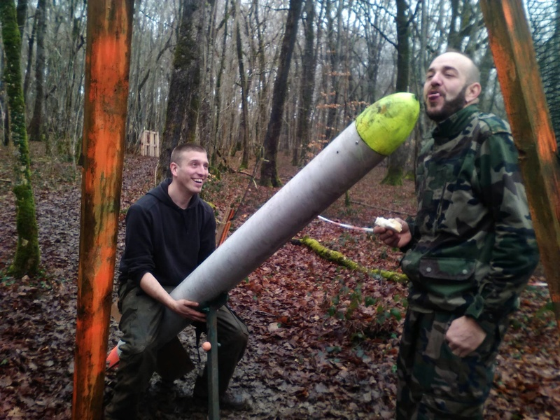 Partie 31 janvier 2016 ( Paintball / Forêt ) 12604812