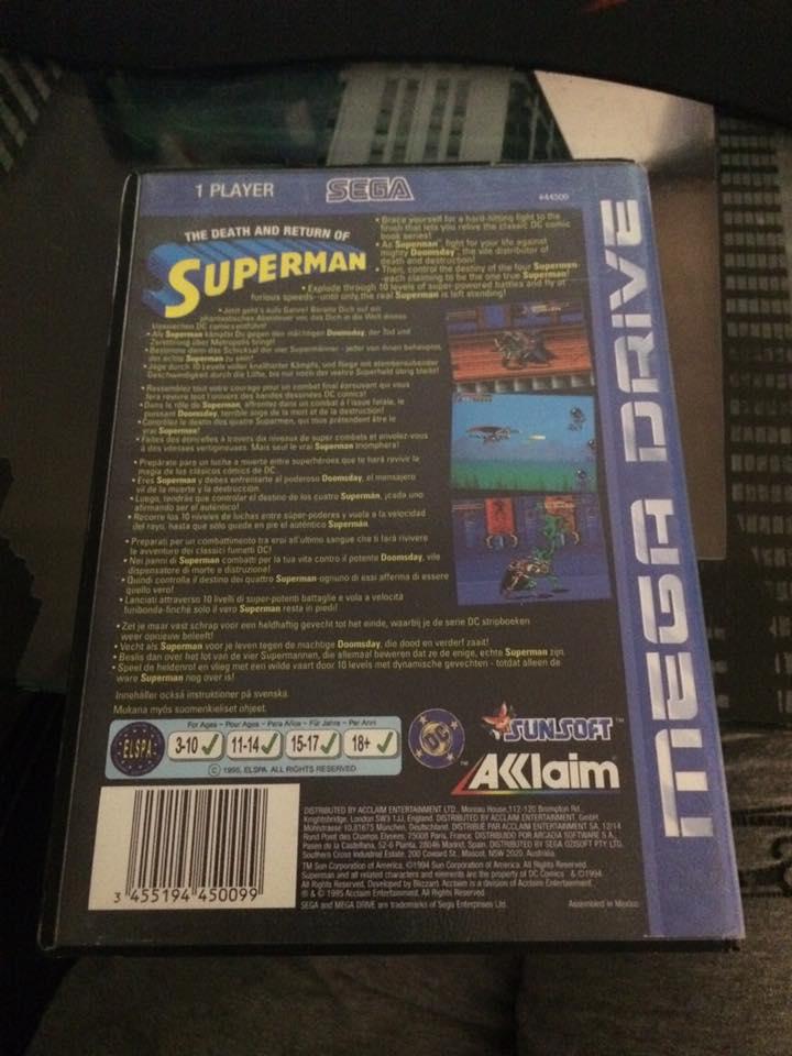 [EST] The death and return of superman mega drive 14656310