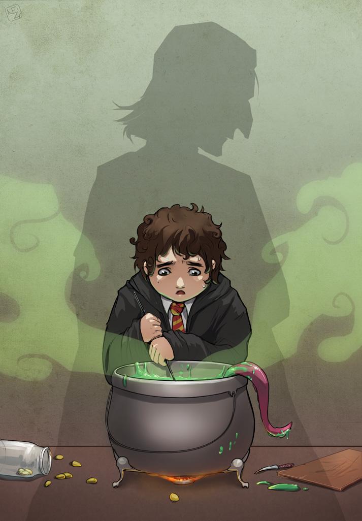 Jeu des dessins HP! ^^ - Page 37 Nevill10