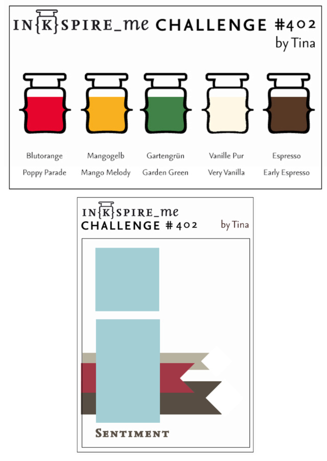 IN{K}SPIRE_me Challenge #402 - Sketch challenge, color challenge