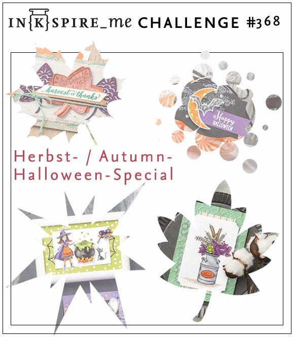 IN{K}SPIRE_me Challenge #368 - Herbst-/Halloween-Special