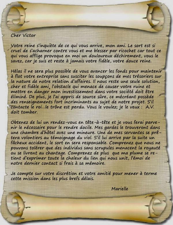 Pourquoi pardonner quand on peut se venger - Page 2 Lettre10