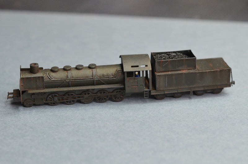 DORA German 80cm railway gun 1/350 Bigblueboy - Page 7 Dsc_5933