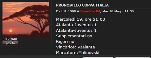 COPPA ITALIA - FINALE [T2 R] Blitz10