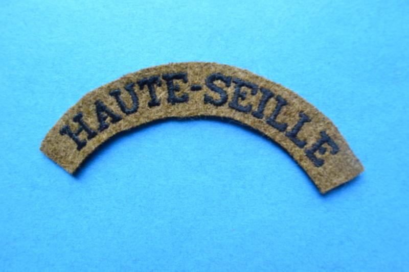 Attribut de bras pour INFANTERIE DE FORTERESSE, modèle troupe secteur HAUTE-SEILLE 69° R.I.F.-ESC 3 Dsc_0517