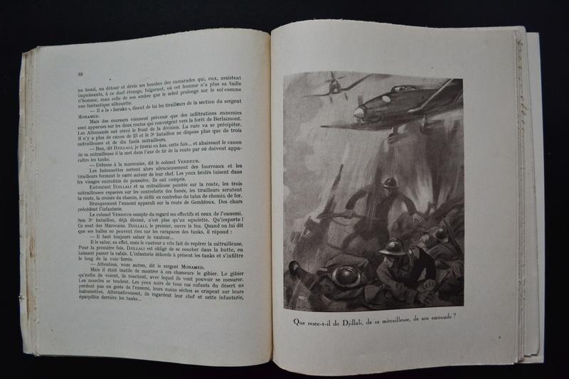 Livre 1939/1940 CEUX DE L'INFANTERIE Récits de combat Edition originale Archat 1943.ESC2 PRIX BAISSE. VENTE CLOTUREE. Dsc_0732