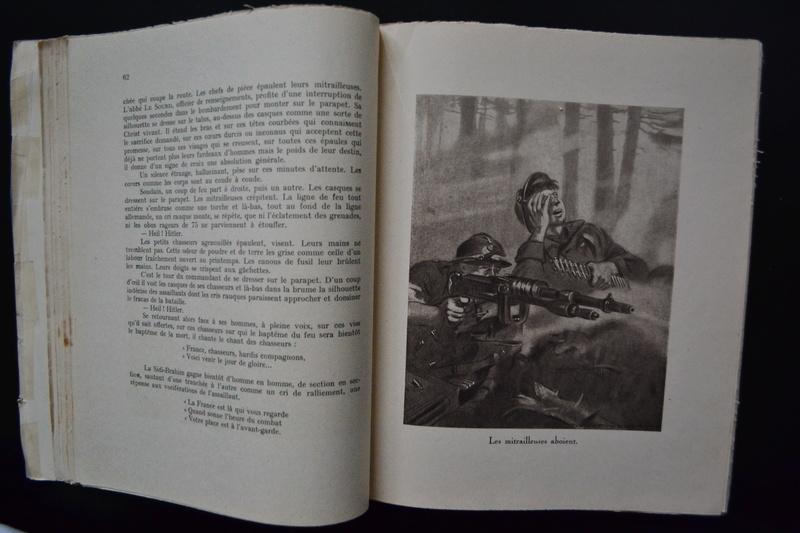Livre 1939/1940 CEUX DE L'INFANTERIE Récits de combat Edition originale Archat 1943.ESC2 PRIX BAISSE. VENTE CLOTUREE. Dsc_0734