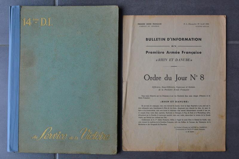 Lot documents ancien engagé volontaire 14° D.I Division DE LATTRE et légionnaire sapeur du génie??? en Indo.ESC 1 A CLOTURER. Dsc_0742