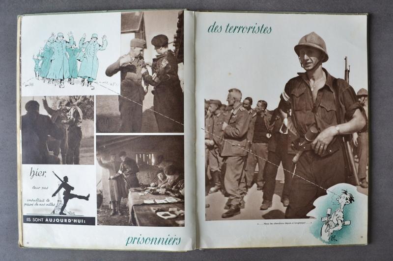 Lot documents ancien engagé volontaire 14° D.I Division DE LATTRE et légionnaire sapeur du génie??? en Indo.ESC 1 A CLOTURER. Dsc_0833