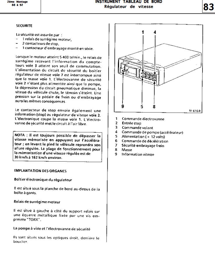 probleme regulateur de vitesse - Page 2 110