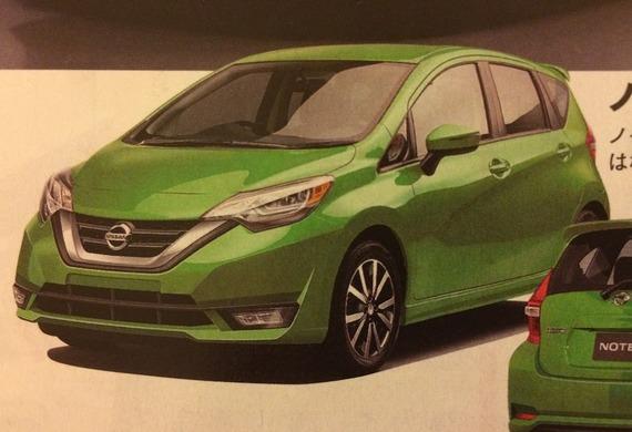 2016 - [Nissan] Note Facelift 381d5410