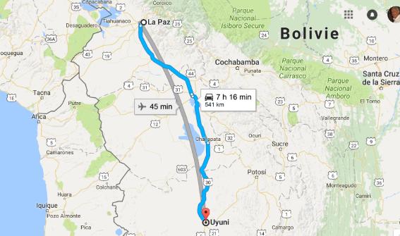 Des jdidis à la rencontre des Inca... La Bolivie Carte_14