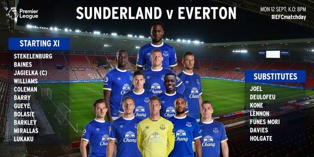 Sunderland v Everton Image10