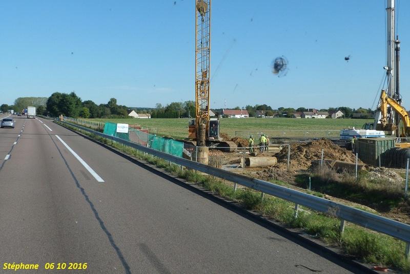 Travaux sur la A6 à Chalon sur Saône. P1350566