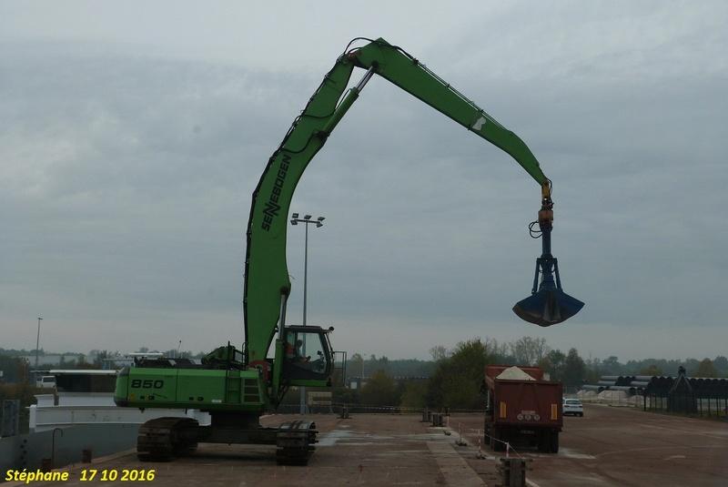 Pelles mécanique Sennebogen (Straubing) (D) P1350952