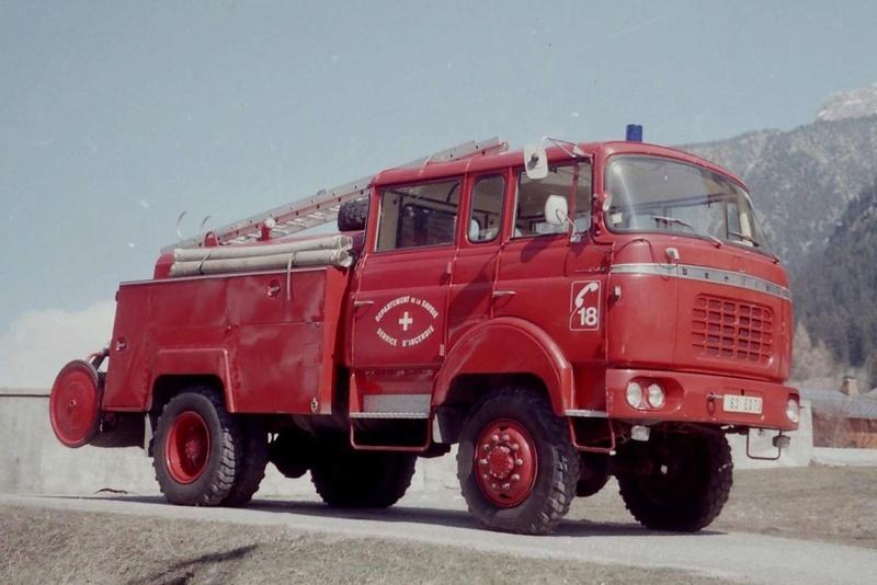 Berliet des pompiers Smart157