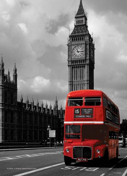 Anniversaire thème london Postca10