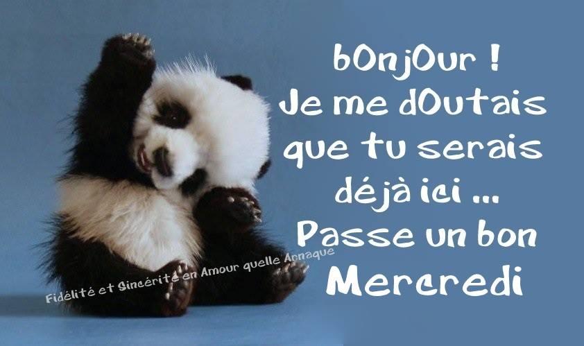bonjour bonsoir de  OCTOBRE - Page 2 Mercre11