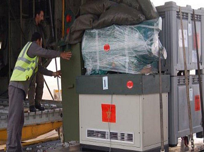 Le Maroc rayonne par son aide et assistance aux pays en crise Syrie_10