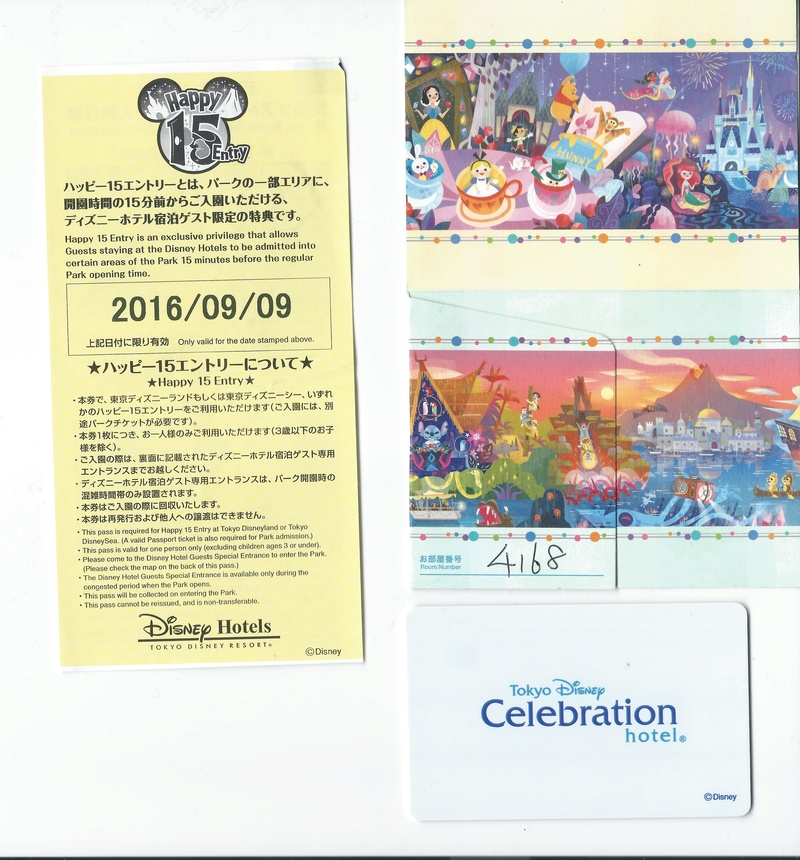 [Tokyo Disney Resort] Tokyo Disney Celebration Hotel (2016) - Page 2 Carte10