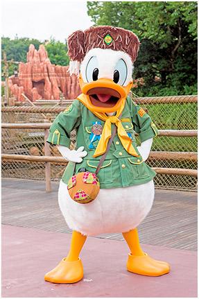 [Tokyo Disneyland] Nouveaux Meet & Greet et restaurant à Westernland (22 novembre 2016) Donald10