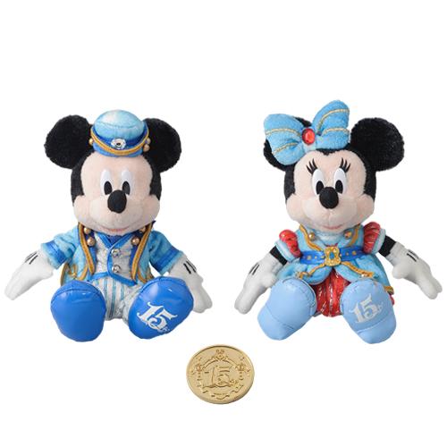 "[Tokyo DisneySea] : 15th anniversary ""The Year of Wishes"" merchandising Peluch10"