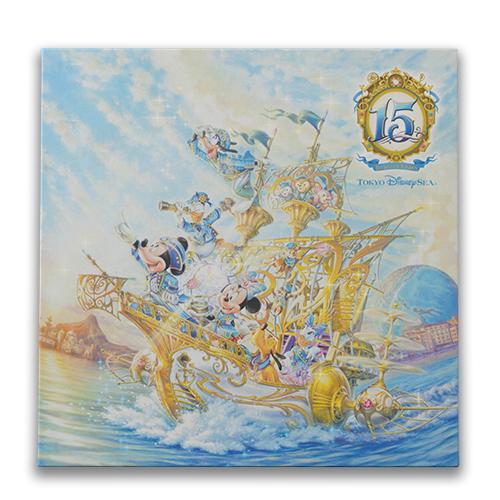 "[Tokyo DisneySea] : 15th anniversary ""The Year of Wishes"" merchandising Tablea10"
