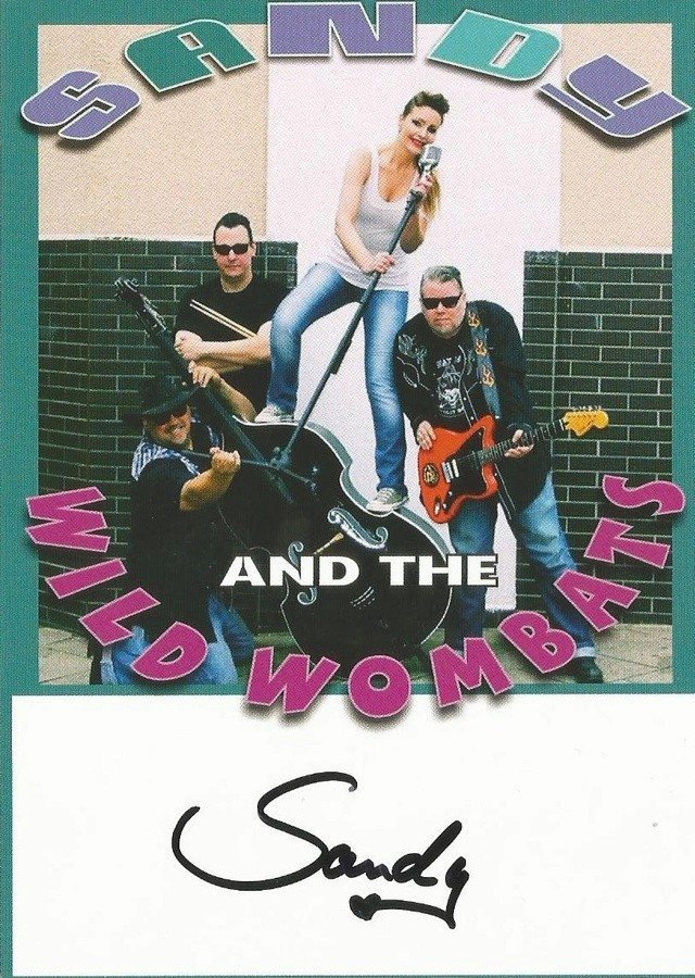 SANDY AND THE WILD WOMBATS Postal11