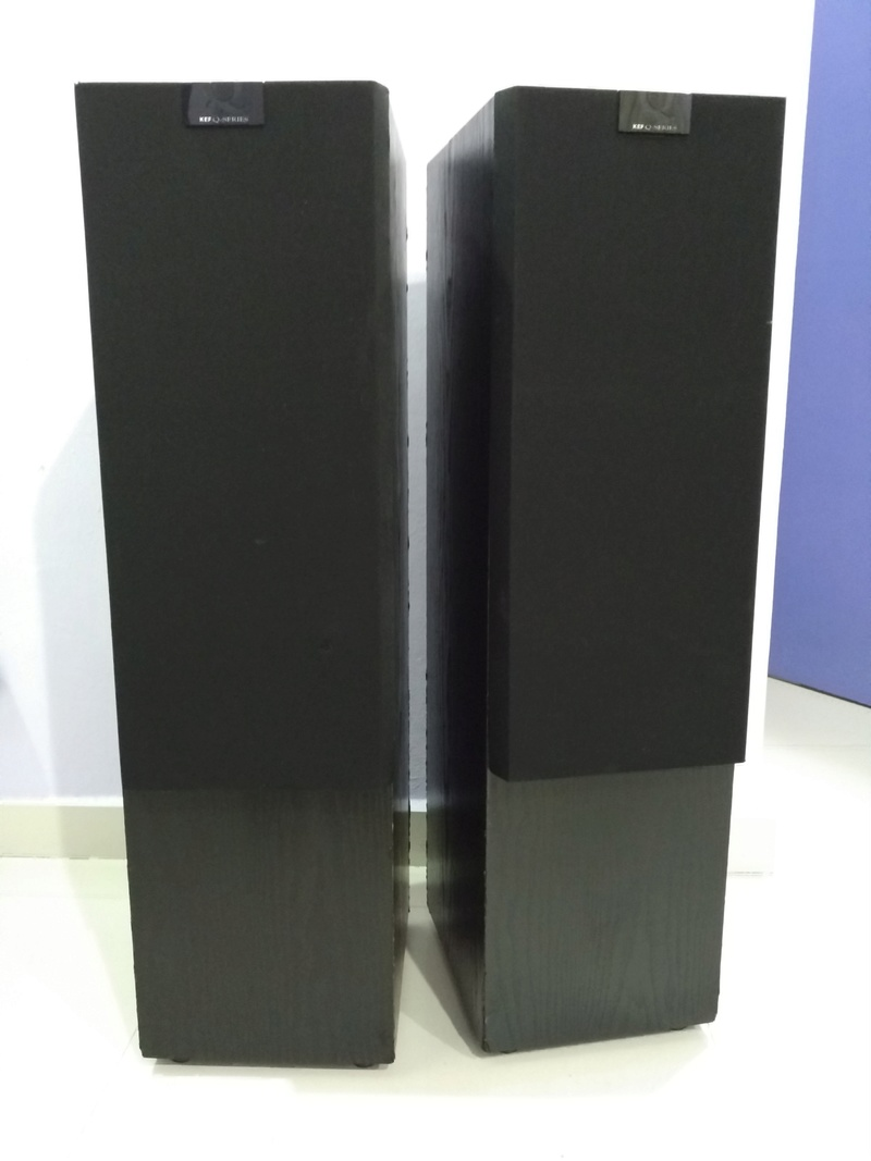KEF Q90 Top of the Q Model Line 3 ways floorstanding Speaker Img_2182
