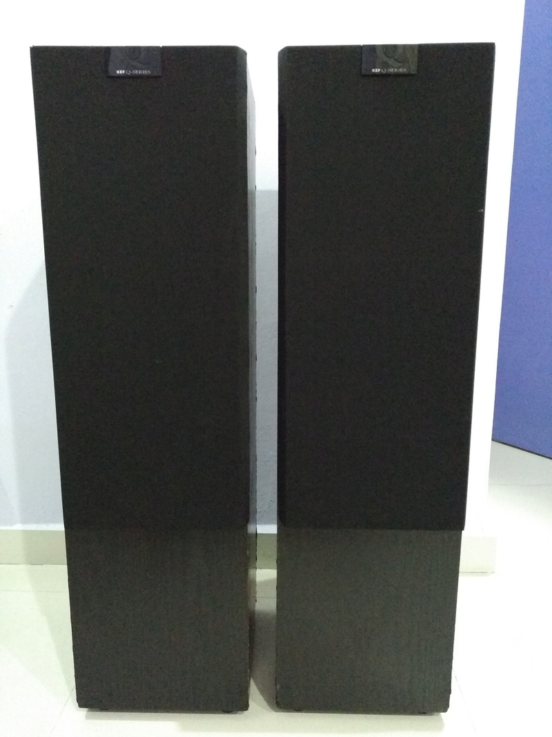 KEF Q90 Top of the Q Model Line 3 ways floorstanding Speaker Img_2183