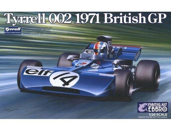 Tyrrell 002 1971 British GP Ebbro-11