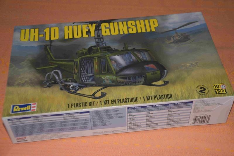 BELL UH-1D Revell 1/32 Dsc_0014