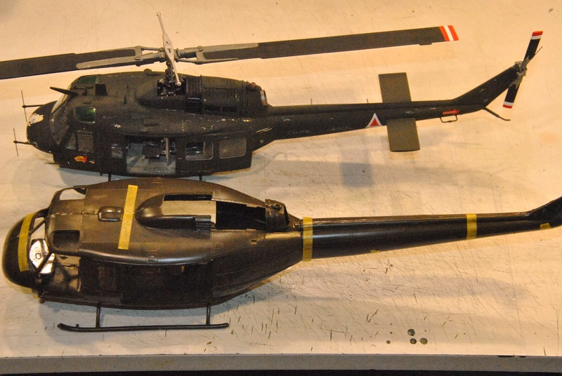 BELL UH-1D Revell 1/32 Dsc_2310