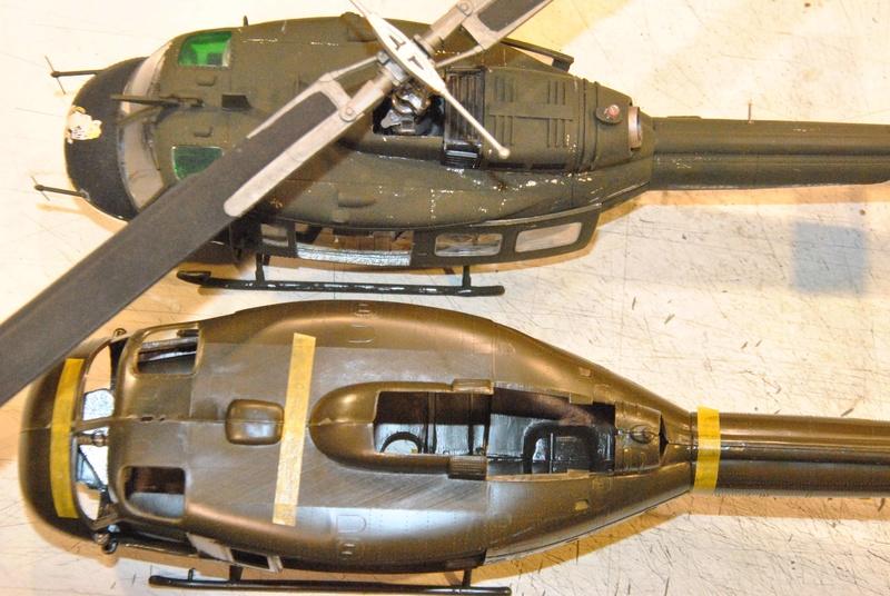 BELL UH-1D Revell 1/32 Dsc_2311