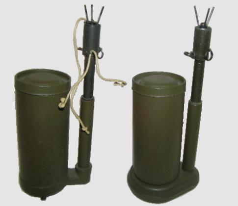 L'ARMEMENT DE LA 4th INFANTRY DIVISION : LA MINE BONDISSANTE M2A1 (et ses variantes) M2_a1_10