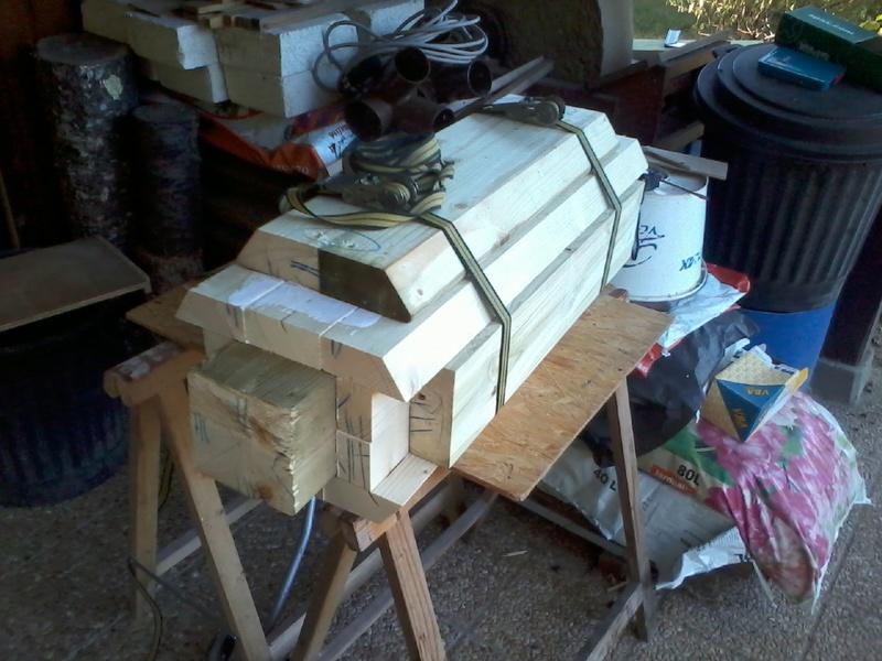 Reproduction de Wurfkörper 32cm pour les Aigles Verts Photo018