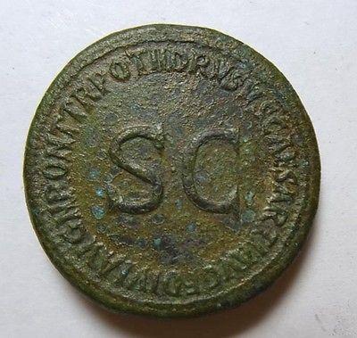 Sesterce Drusus Germanicus _110