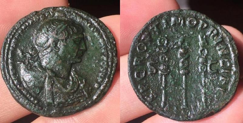 As Trajan buste particulier Trajan10