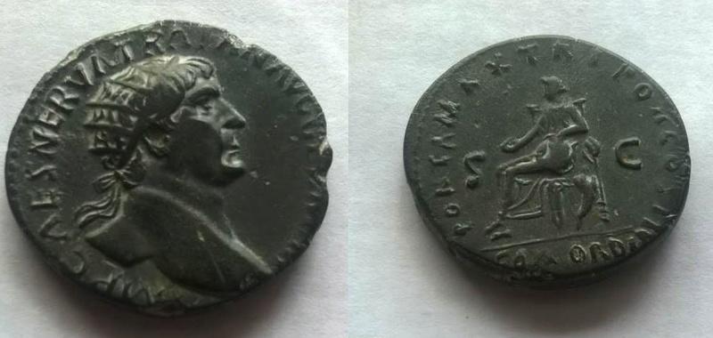 Dupondius de Trajan à préciser Trajan11