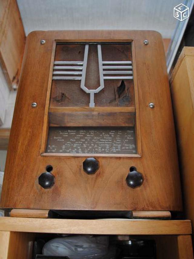 "VintageAmp : TSF + Marshall 10w + buffer à tubes + HP 6"" 15W Jensen 0516"