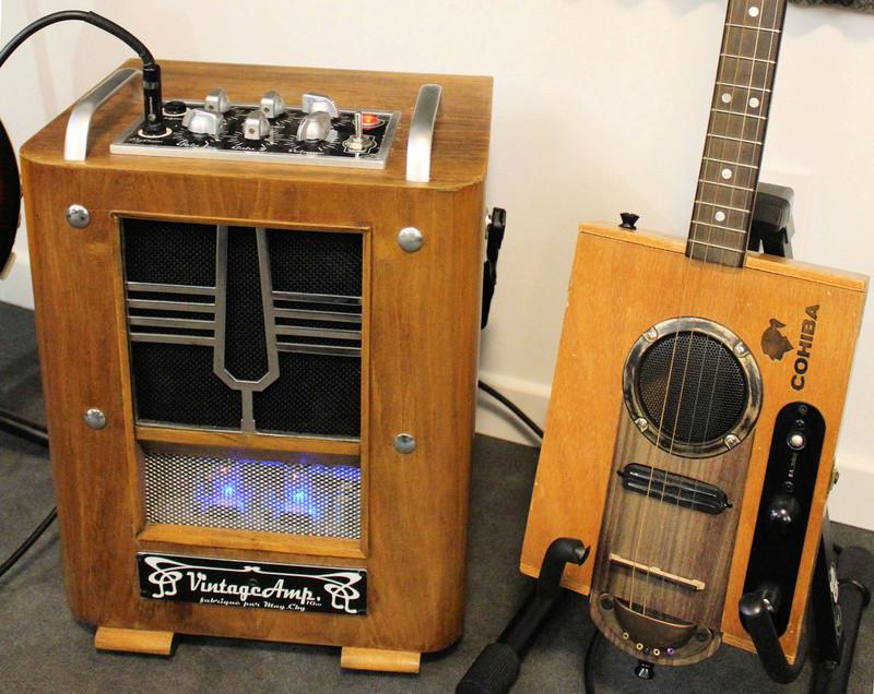 "VintageAmp : TSF + Marshall 10w + buffer à tubes + HP 6"" 15W Jensen Image310"